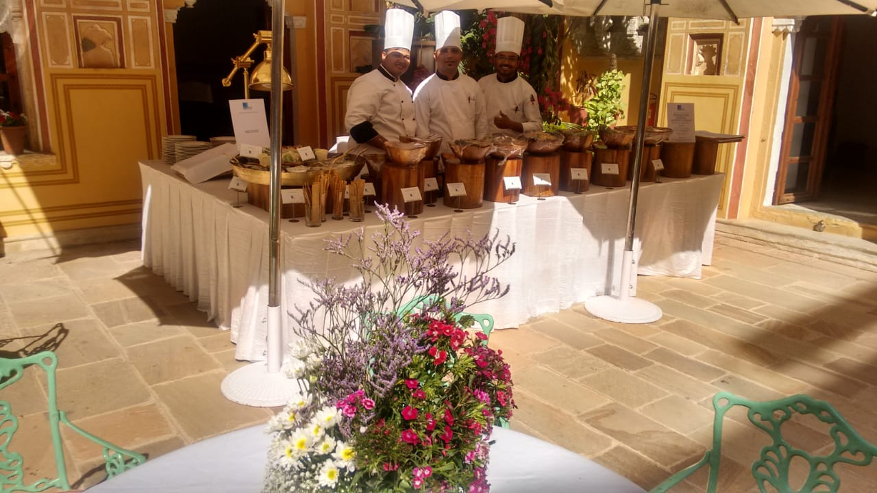 event catering services in Pushkar