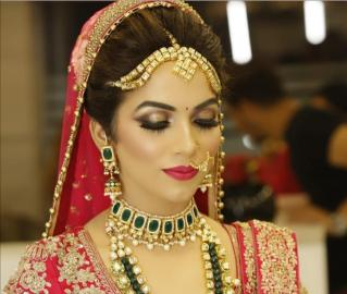 Bridal Hairstyle in Khimsar