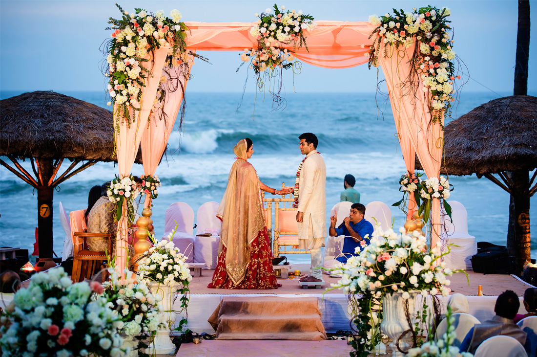Beach Wedding in Ghanerao